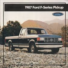 1987 Pickup Ford Truck Sales Brochure Rustfree Oowner 1987 Ford F350 Crew Cab New To Me F150 4x4 Forum 9 Rare Special Edition Trucks Fordtrucks Super Fascating Ford Pickup 4wd Automatic 3speed Original Truck Fseries Sales Brochure 87 Xl Xlt For Sale Classiccarscom Cc11861 Sale In Stony Hill St Andrew Kingston St Andrew 8791 Truck Heater Core Replacement F Series Bricknose F250 Stkd5852 Augator Sacramento Ca F800 Tpi