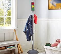 Traffic Light Coat Rack