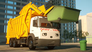 Garbage Trucks: Cartoon Garbage Trucks