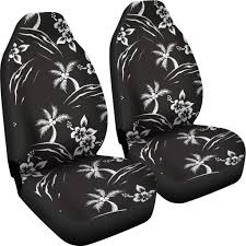 Palm Tree Pattern Print Design PT02 Universal Fit Car Seat ...