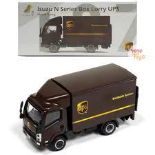 Jual Ready Stock Tiny Diecast 137 Isuzu N Series Box Lorry UPS Di ...