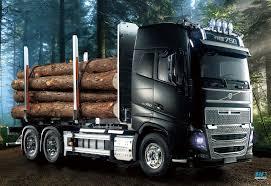 100 Tamiya Truck Volvo FH16 Globetrotter 750 6x4 Timber RC Driver
