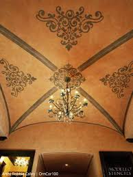 Groin Vault Ceiling Images by Groin Vault Ceiling Stencils U2013 Modello Designs