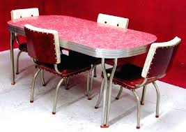 50s Dining Table Retro And Chairs Style Latest On
