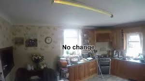 Ceiling Fan Light Flickers Then Turns Off by How To Fix A Flickering Fluorescent Light Youtube