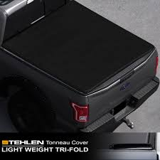 100 Bed Cover Truck Stehlen 714937189928 Lightweight Hard TriFold Style