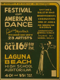 Harry M Rhoads Photograph Collection Poster For Federal Theatre Project Presentation Of A Festival American Dance