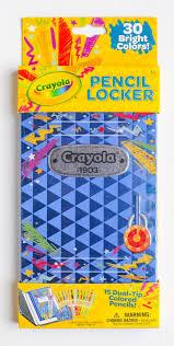 Crayola Bathtub Crayons Collection by 15 Count Crayola Pencil Locker Dual Tip Colored Pencils What U0027s