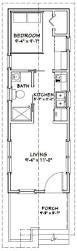 30 X 30 With Loft Floor Plans by 10x30 Tiny House 10x30h1a 300 Sq Ft Excellent Floor Plans