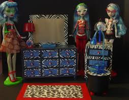 Monster High Bedroom Set by Monster High Dollhouse Project My Small Obsession
