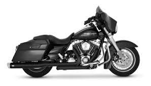 vance hines dresser duals exhaust black 443 682 j p cycles
