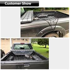 EZYKOO /[Upgrade Bungee Cargo Net Bungee Cord 47 X 36 Heavy Duty ... Towing Planet Truck Bed Tie Downs Pickup Anchors Side Wall Loop Techliner Liner And Tailgate Protector For Trucks Weathertech Amazoncom 4 Drings 38 Heavy Duty Steel Tiedown For 3x5 Bungee Cargo Net Stretches To 5x8 Houseables Cover 5mm Thick X 6 Elastic Cheap Hooks Find Deals On Line At Alibacom Clampon 2 Pack 676613 Accsories Best Rated In Helpful Customer Reviews Tool Boxes Liners Racks Rails Preparation Cave Campers