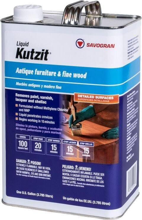 Savogran 249088 Kutzit Gallon Liquid Stripper