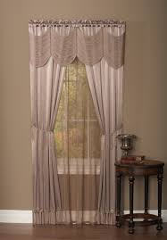 Jcpenney Brown Sheer Curtains by Interior Design Decorate Your Window By Using Swags Galore
