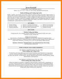 9 Medical Biller Resume Sample Job Apply Form Billing And Coding For Examples