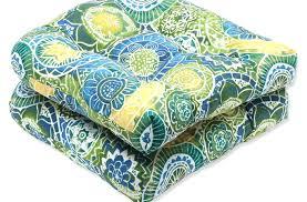 Amazon Patio Chair Cushions by Patio U0026 Pergola Amazon Com Pillow Perfect Outdoor Omnia Lagoon