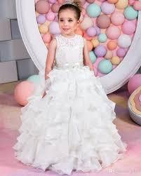 lovely princess little girls formal wear gowns flower dresses
