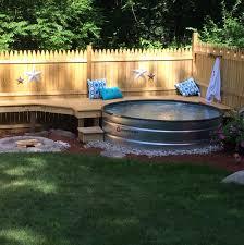 Galvanized Stock Tank Bathtub by 25 Refreshing Stock Tank Pool Ideas To Beat The Summer Heat