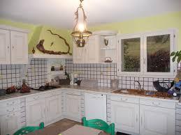 cuisine blanc cérusé cuisine blanc craie chinons et kolorons