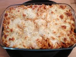 gratin de pâtes au thon mozzarella recette de gratin de pâtes