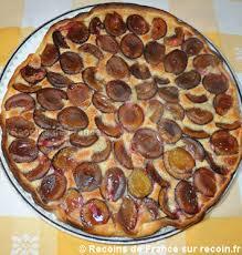 dessert aux quetsches recette recette tarte aux quetsches sur recoin fr