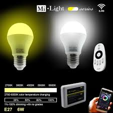 aliexpress buy ac85 265v 2 4g e27 6w color temperature