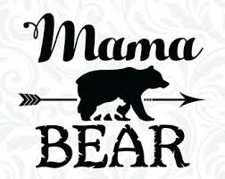 28 Collection Of Mama Bear With Cubs Clipart
