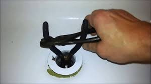tub drain removal without a special tool youtube