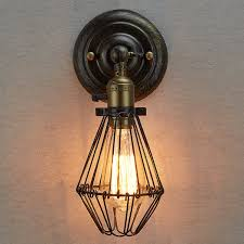 claxy ecopower industrial opening and closing light wall sconce