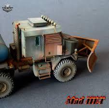 100 Het Military Truck Mad HET Postapocalyptic Truck 172 Balaton Modell Shop