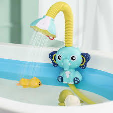 baby bad spielzeug wasser spiel elefanten modell wasserhahn dusche elektrische wasser spray spielzeug für kinder schwimmen bad baby badewanne