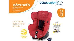 fixation siege auto bebe confort siège auto iséox iosfix de bébé confort parents fr parents fr