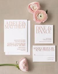 15 Super Chic Minimalist Wedding Invites