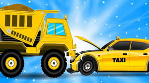 100 Dump Trucks Videos Taxi Hits The Truck Car Repair Cars Garage For