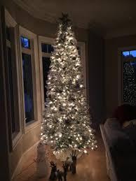 Pre Lit Pencil Christmas Tree Walmart by White Christmas Trees Walmart Finest Holiday Time Prelit U