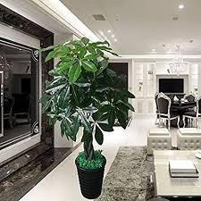 große topfpflanze simulation pflanzen wohnzimmer büro in
