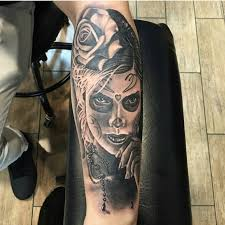 Awesome Mexican Style Tattoo
