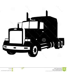 Truck Silhouette - Top Semi Truck Silhouette Cdr | Lilylaneart.com