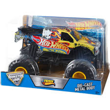 100 Team Hot Wheels Monster Truck Jam 124 Walmartcom