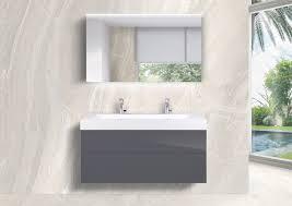 badmöbel set laguna 3 tlg unterschrank grifflos doppelwaschtisch led spiegelschrank
