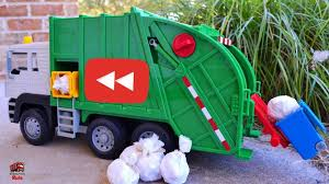 Garbage Truck Videos For Children L YouTube Rewind! Favorite ...