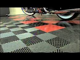 racedeck garage floors hometime tv show harley davidson