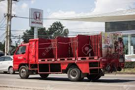 100 Coke Truck Chiangmai Thailand September 27 2018 Coca Cola