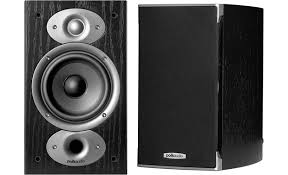 Polk Audio RTi A1 Black Bookshelf speakers at Crutchfield