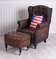 bench furniture englischer sitzhocker chesterfield hocker