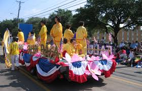Parade Float Decorations In San Antonio by Dallas Tx Practitioners Take Part In Texas U0027 Largest Independence