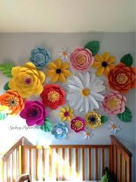 Wall Decoration Flowers Heart Shaped Rolled Paper Flower Decor
