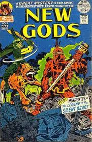 Cover To The New Gods 7 Feb March 1972 Featuring