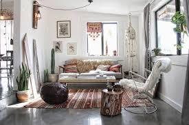 intérieur style bohème maison dans le désert de californie