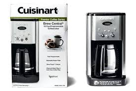 Cuisinart Coffee Maker Owners Manual With Brew Central Cup Programmable Coffeemaker Review For Prepare Cool